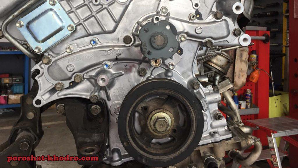 تعمیر موتور تویوتا لکسوس در شرق تهران